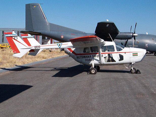 Botswana Cessna 337 O-2 A SuperSkymaster - Botswana Defence Force