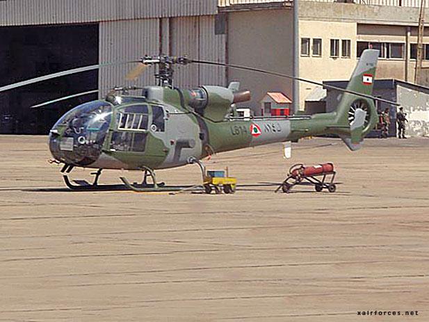 Lebanese SA-342L Gazelle - Al Quwwat al-Jawwiya al-Lubnamia ...